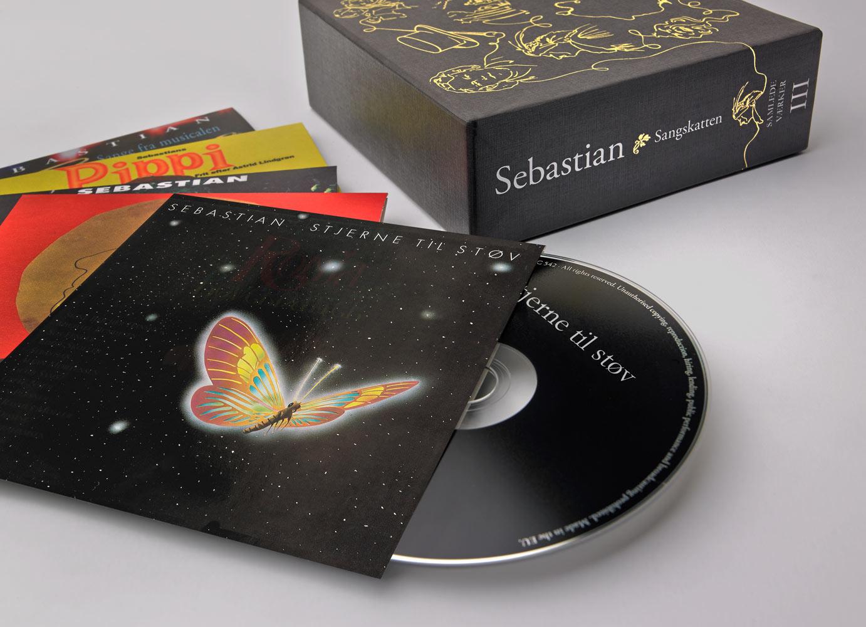 Sebastian - Sangskatten - Samlede Værker Vol. I