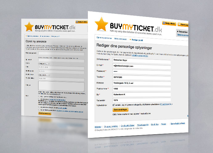 BuyMyTicket website