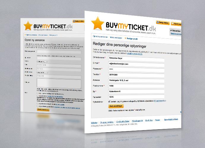 BuyMyTicket website