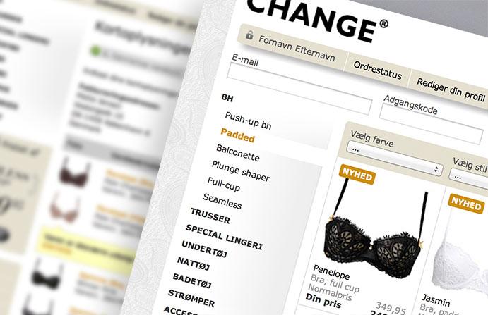 Change netbutik med ERP integration