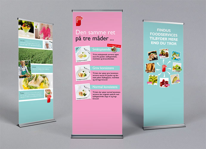 Findus Foodservices messestand