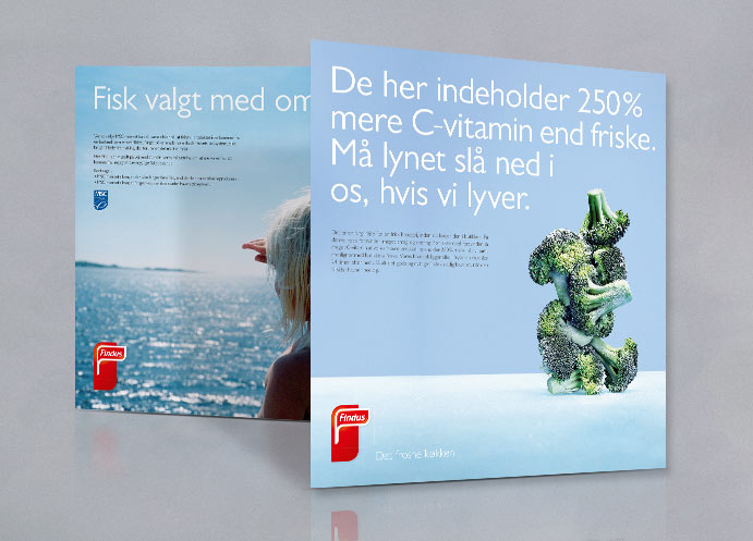 Findus Foodservices annoncer