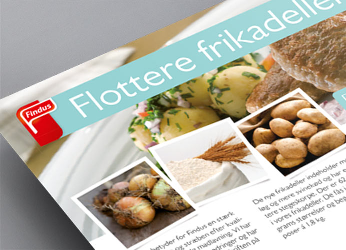 Findus Foodservices magasin design