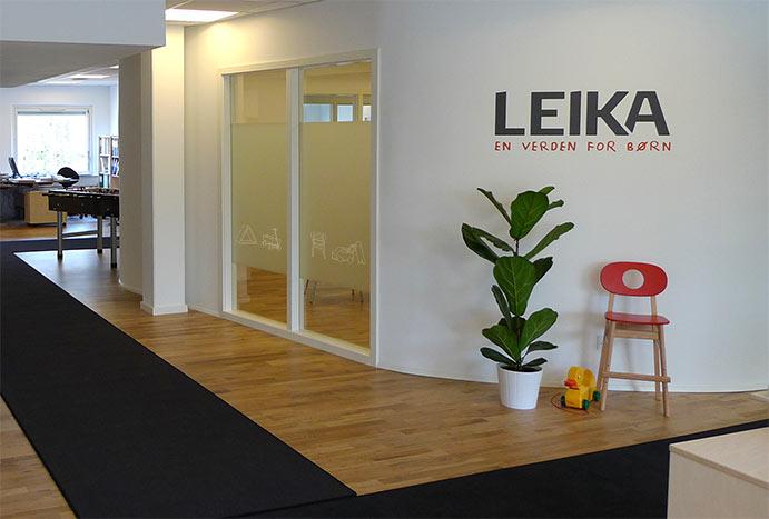 LEIKA interiør